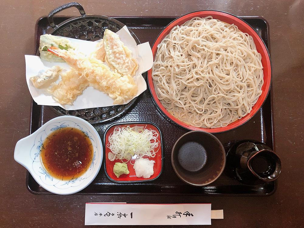 足利 ランチ お蕎麦「一茶庵本店」