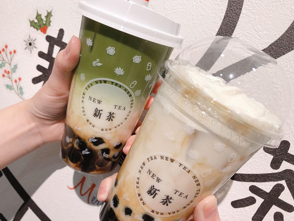 足利 タピオカ専門カフェ「新茶 NEW TEA」