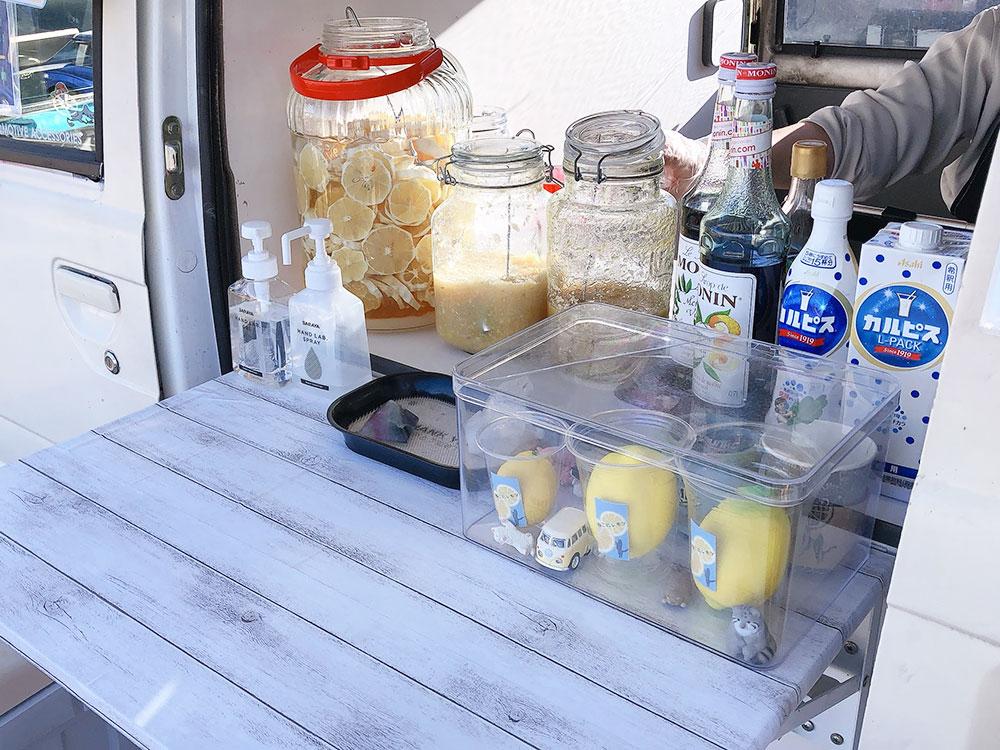 足利 テイクアウト・キッチンカー|レモネード専門店「ねこにレモン」