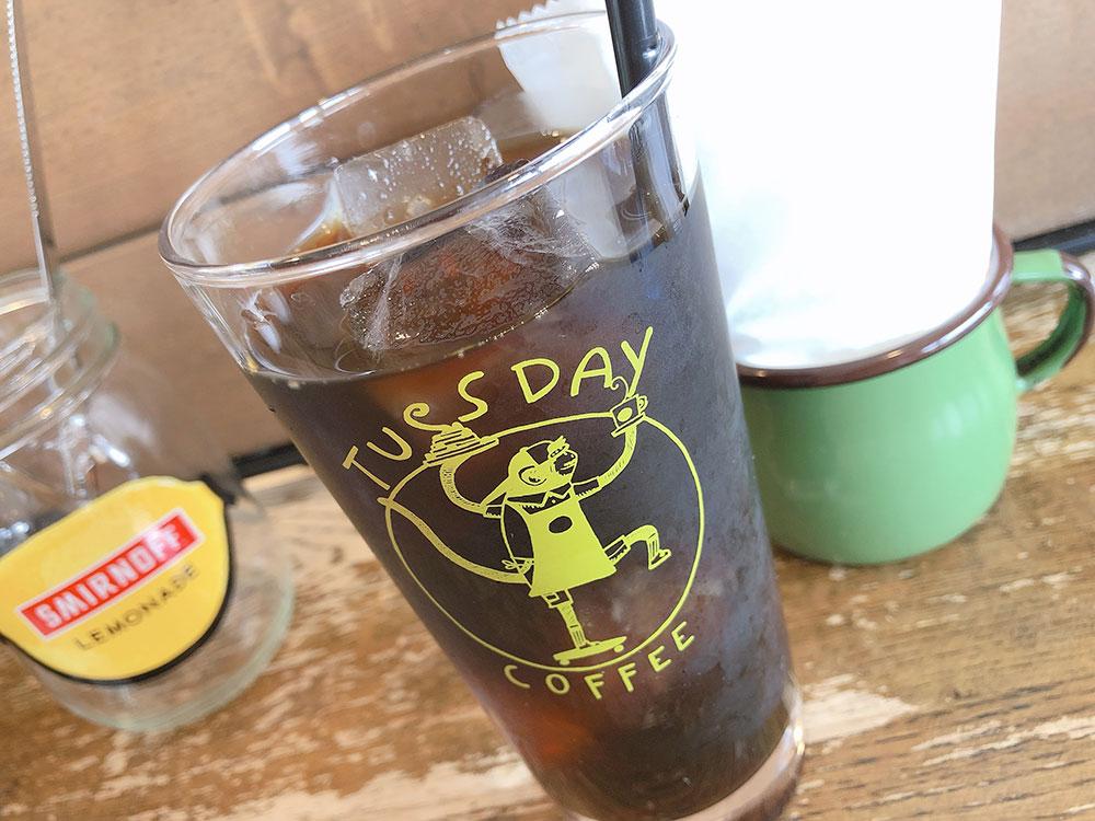 小山 ランチ カフェ「TUESDAY COFFEE(チューズデイコーヒー)」
